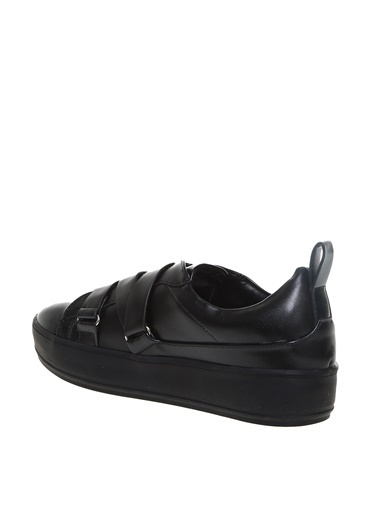 Limon Company Limon Kadın Bantlı Siyah Düz Ayakkabı Siyah